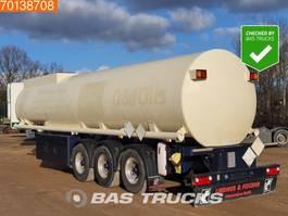 Tankauflieger Auflieger Lindner & Fischer TSA 36 LTD 3 axles 34.350 Ltr. Fuel Benzin Pump ADR 2x Liftachse 2009