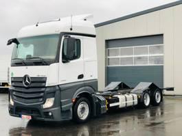 chassis cab truck Mercedes-Benz ACTROS 2542 /VOLUMEN/STAPLERHALTERUNG/STANDKLIMA
