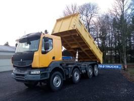 tipper truck > 7.5 t Renault Kerax 450 dxi tri-benne comme neuf!