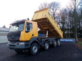 tipper truck > 7.5 t Renault Kerax 450 dxi tri-benne comme neuf! very good tyres 2007