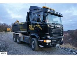 tipper truck > 7.5 t Scania R580 6x4 Tipper truck. Steel suspension. WATCH VID 2014