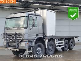 platform truck Mercedes-Benz Actros 4150 AK 8X8 V8 Manual Big-Axle Steelsuspension Euro 3 2006