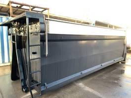 other containers Hyva Container met afdekkappen geïsoleerd kabel haak