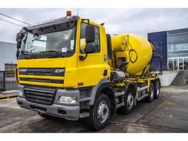 concrete mixer truck DAF CF 85 410 - EURO 5 2010
