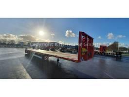 flatbed semi trailer KAESSBOHRER Plattform Mega SPA M3 ausziehbar