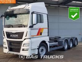 chassis cab truck MAN TGX 35.560 8X4 XLX Intarder Lift+Lenkachse Euro 6 2016