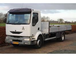 platform truck Renault Midlum 180 -12 AIRCO OPEN LAADBAK APK 10-2021 2004