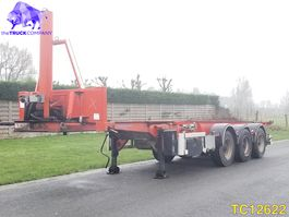 Container-Fahrgestell Auflieger ASCA Container Transport 2004