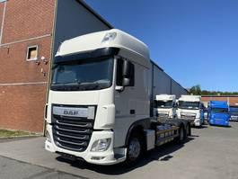 swap body truck DAF BDF FAR XF460SSC, ACC, Intarder, AHK , TOP 2017