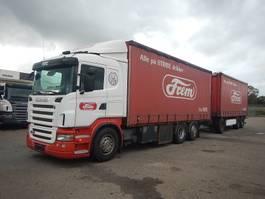 tilt truck Scania R420 + Krone anhænger 2008