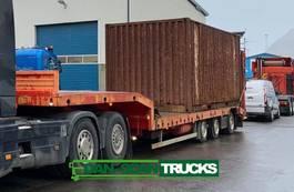 flatbed semi trailer Kel-Berg Heawy duty Fladbed 6m extension 2008