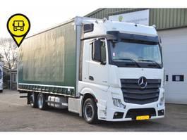sliding curtain truck Mercedes-Benz Actros 2548 .6X2 RETARDER.384463 KM 2016