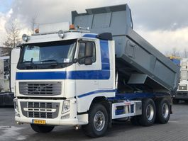 tipper truck > 7.5 t Volvo FH 540 6x4 TIPPER / FULL STEEL / BIG AXLES EURO 5 2013