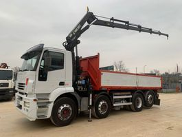 tipper truck > 7.5 t Iveco Stralis 260S43 HIAB 200 C5 2005