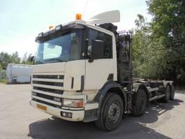 container truck Scania 114-340 8X2 RETARDER 1999