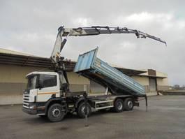 platform truck Scania G124-420 8X2 2001