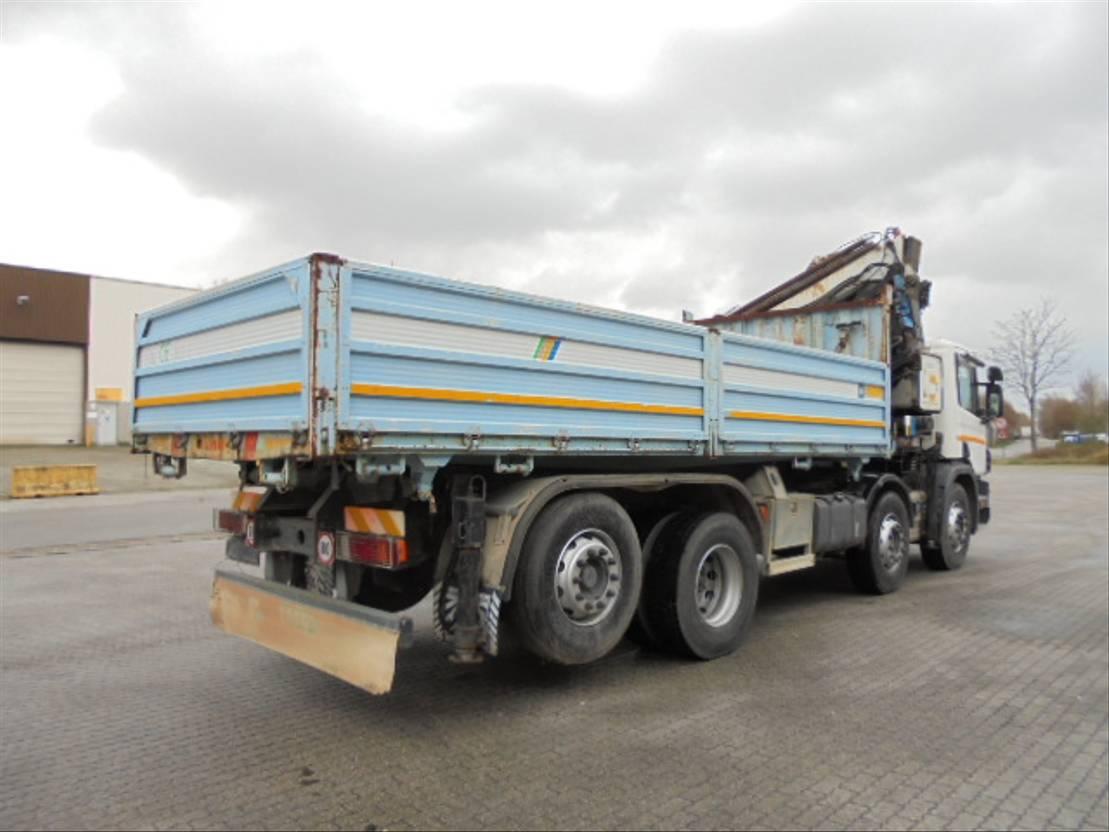 Plattform-LKW Scania G124-420 8X2 2001