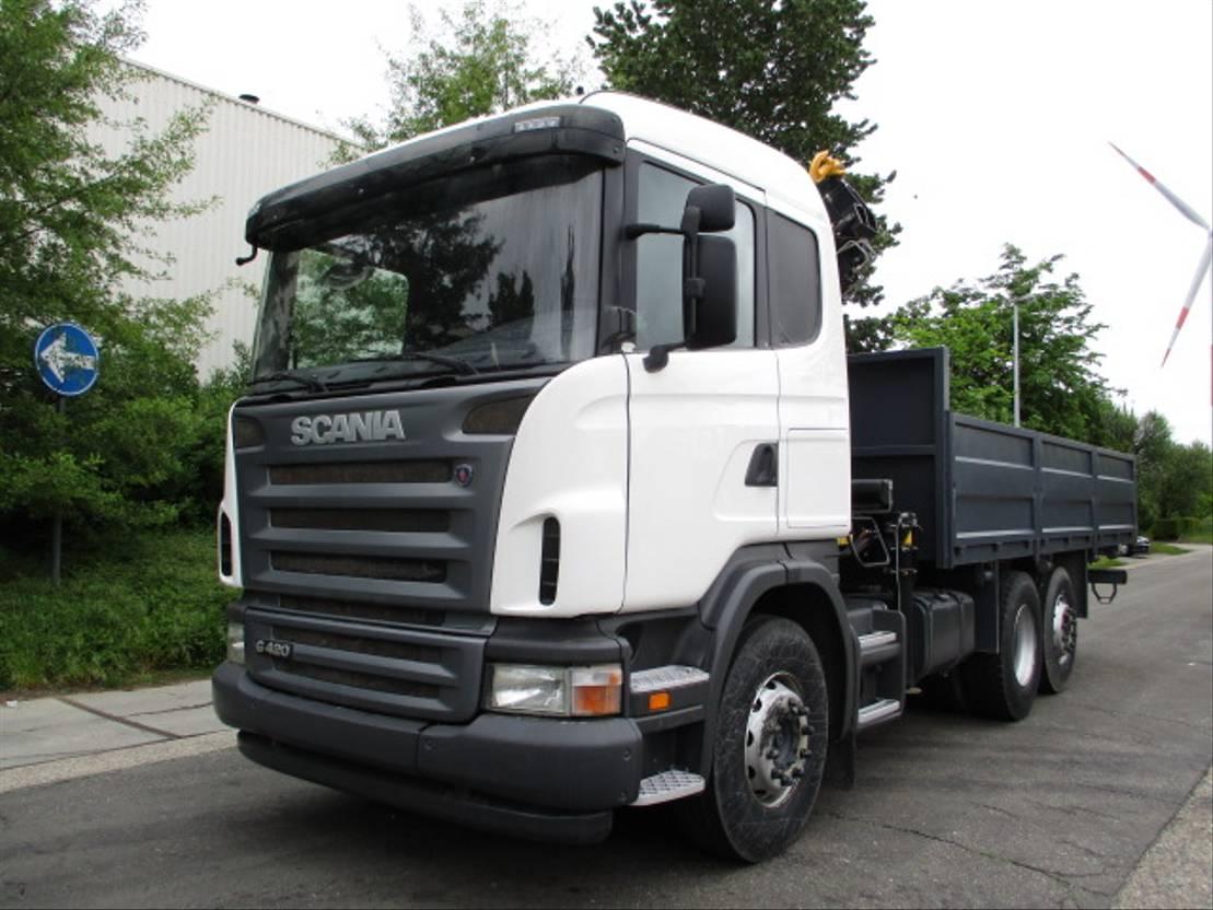 Plattform-LKW Scania G420 6X2 2020