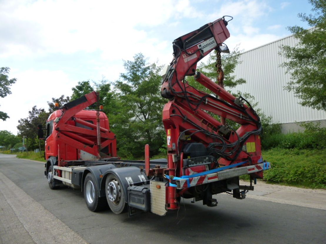Container-LKW Scania R124-6x2 2002