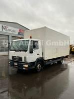 closed box truck MAN MAN 8. 163 LC * 2004* 437641* Werkstattkoffer ** 2004