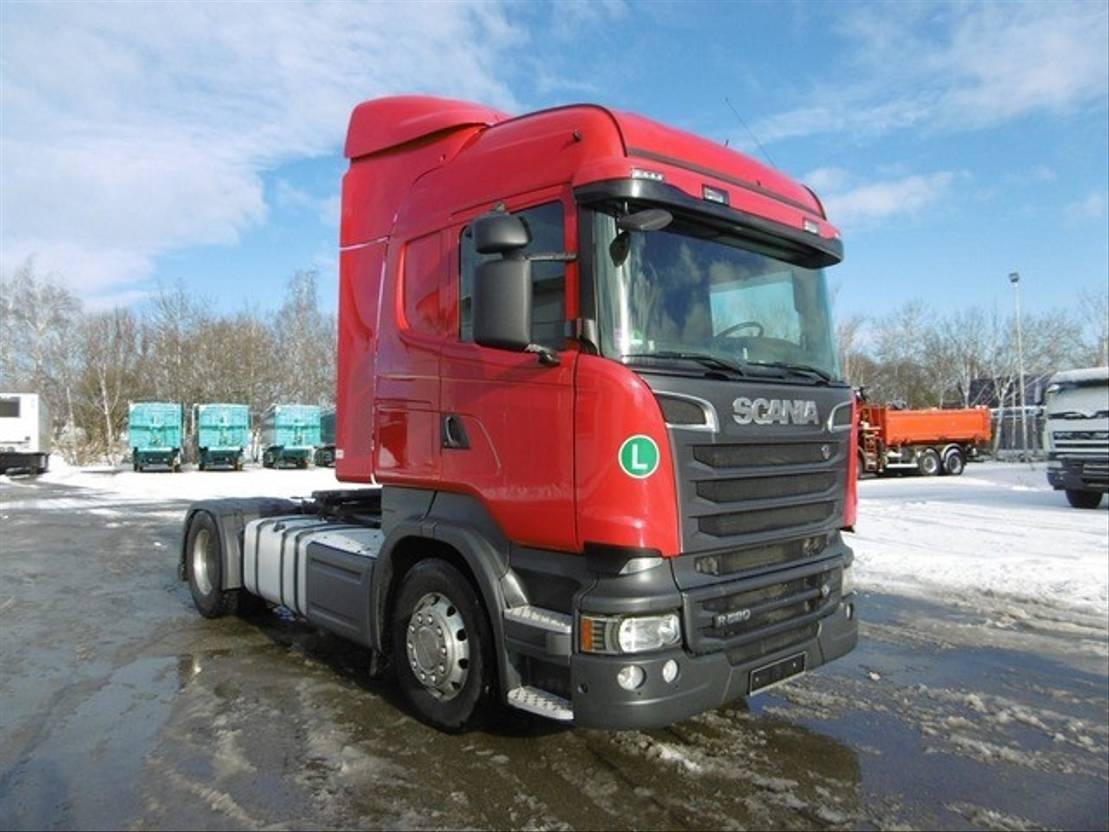 cab over engine Scania R520 Highline Euro 6 Standklima 2xTank Retarder 2014