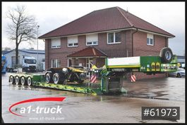 lowloader semi trailer Faymonville STBZ-4VA, 4+2  Tele, Extandable, Dolly, super low 2014