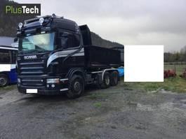 tipper truck > 7.5 t Scania R580 2005