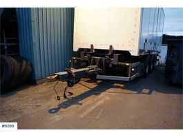 other full trailers Norslep 3 axle container trailer with rear lift 2005