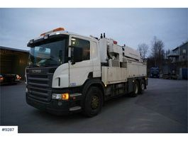 other construction machine Scania P420 6x2 vacuum truck (muller build) WATCH VIDEO 2008