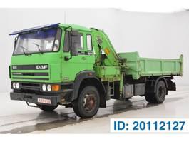 tipper truck > 7.5 t DAF 1900 1989