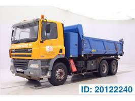 tipper truck > 7.5 t DAF CF 85 380 - 6x4 2005