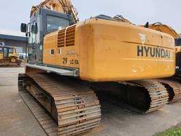 crawler excavator Hyundai Robex 290 LC-7 A 2008
