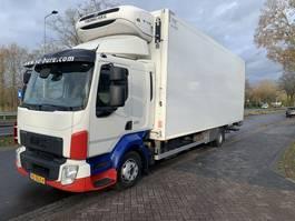refrigerated truck Volvo FL 210   KOELWAG./ SLAAPCAB. EURO 6 2014