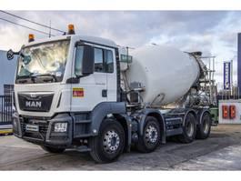concrete mixer truck MAN TGS 32.360 BB + MIXER 9M³ + EURO 6 2015