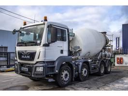 concrete mixer truck MAN TGS 32.360 BB+ MIXER 9M³+ EURO 6 2015