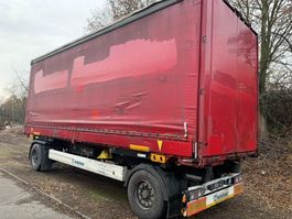 chassis trailer Krone AZ DB07L Mit Aufbau 2013