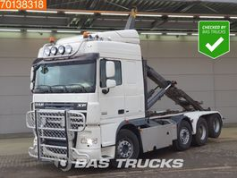 container truck DAF XF 105 510 8X2 Intarder Big-Axle Liftachse Lenkachse Euro 5 2013