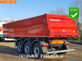 tipper semi trailer KAESSBOHRER 24m3 Alu Kipper 3 axles Liftachse BPW 2021