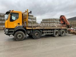 crane truck Renault KERAX 450Dxi + KRAN TEREX 240.2E