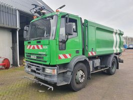 chassis cab truck Iveco 150E18 - 4000L tank 2004