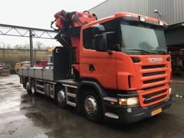 crane truck Scania R440 8X2*6 2010
