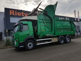 garbage truck Volvo FM 9 EURO 5 FRONTLOADER 2008