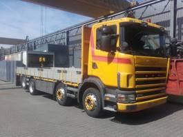 drop side truck Scania 124 400 8X2 1998