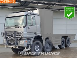 chassis cab truck Mercedes-Benz Actros 4150 AK 8X8 CHASSIS ONLY V8 Manual Big-Axle Steelsusp. E3 2006