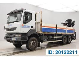 platform truck Renault Kerax 370 DXi - 6x4 2007