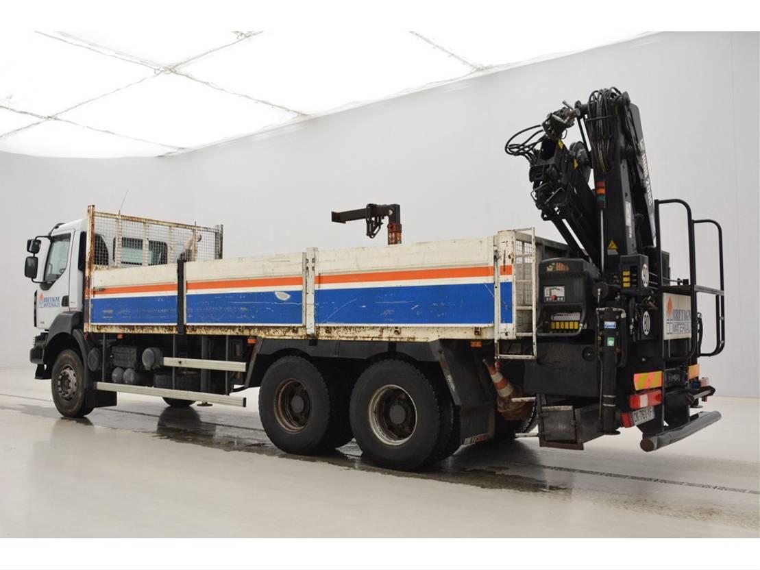 Plattform-LKW Renault Kerax 370 DXi - 6x4 2007