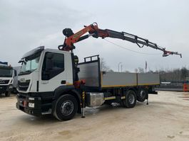 Pritsche offen LKW Iveco Stralis A260SY48 + Palfinger PK27.000 2016