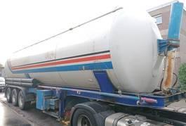 tank semi trailer semi trailer SPITZER 3 achs Kipp Silo 55 m luft BPW Diesel Motor 1988