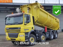 tipper truck > 7.5 t DAF CF 85 410 8X4 Intarder Big-Axle Steelsuspension 2007