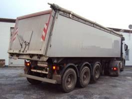 tipper semi trailer Langendorf 3 achs Alu Mulde 35 m ³ luft lift , BPW Eco Podest Plane Top 2011